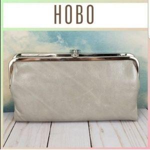 HOBO Lauren Clutch Wallet Cloud Grey